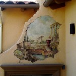 Fireplace Fresco